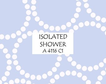 Half Yard Isolated Shower Pearl Bracelet, Lizzy House for Andover Fabrics, 100% Cotton Fabric, A 4116 C1