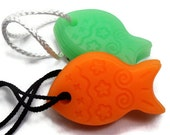 Kids Soap - Funny Fish Soaps - Soap on a Rope - Vegan
