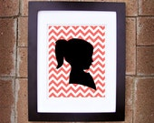 Personalized/Customizable Silhouette Art - 8x10 Printable Art