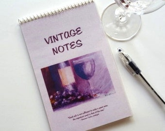 Wine Tasting Journal Book