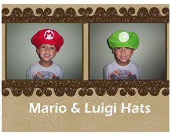 Mario or Luigi Hats