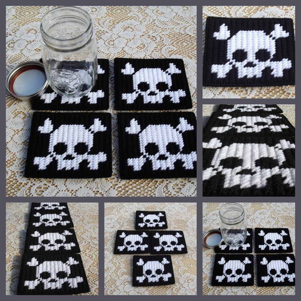 Simplicity image intended for free printable plastic canvas patterns skulls