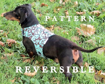 DIY harness small dog sewing pattern leash instructions too handmade pets clothing