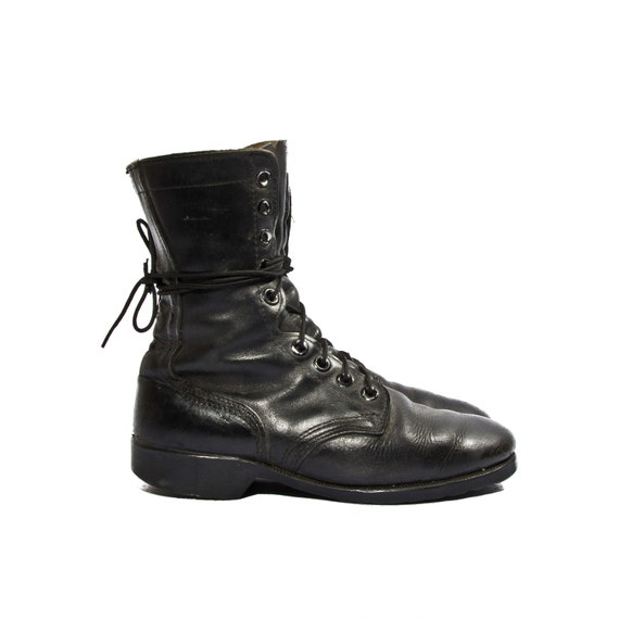 1980 Vintage Standard Issue Army Combat Boots Military Chic