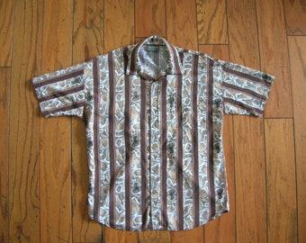 Triumph of California Vintage Men's Casual Shirt Large