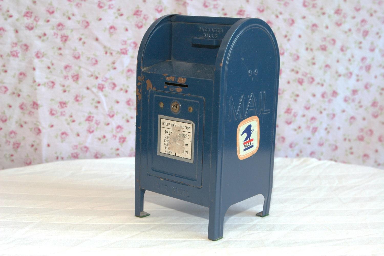 Vintage US Mailbox Bank