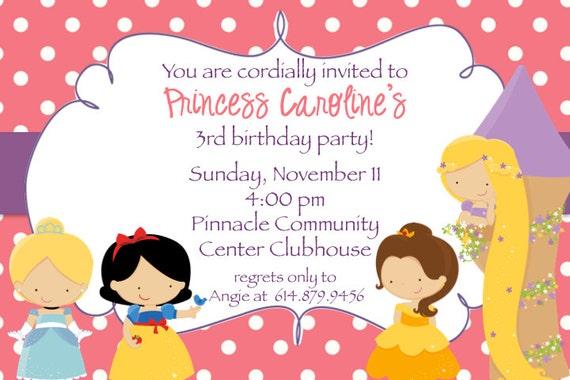 Tangled Birthday Party Invitations for amazing invitation example