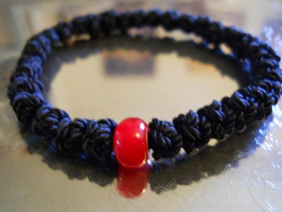 Hand Knotted Eastern Orthodox Style Prayer Bracelet or Kombuskini