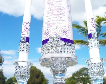 Combine Unity and Memorial Candle........ Holder set included