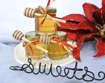 Gourmet Party Favors, Honey Favors, 40 Jars
