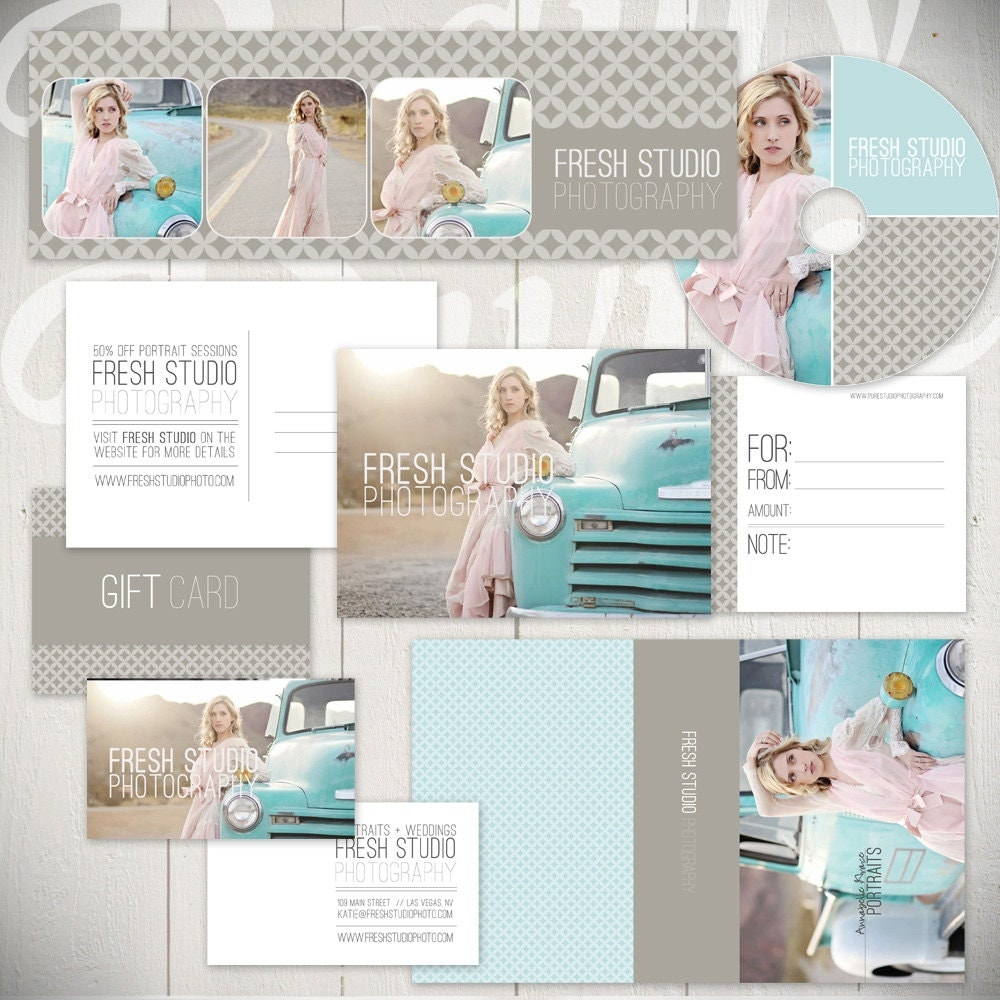 free photography marketing templates - photography marketing templates fresh studio marketing set