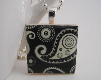 Paisley Pendant with Free Necklace
