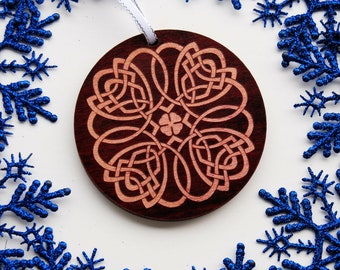 Celtic Holiday Christmas Tree Ornament