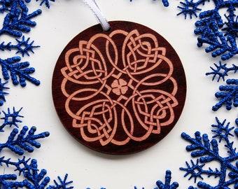 Celtic Holiday Christmas Tree Ornament