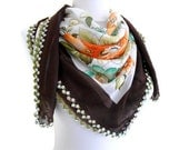 traditional, authentic, Fashion Lace Shawl, mothers day, wedding, bride, Scarf ,2012 Spring Fashion, Traditional Turkish-style,