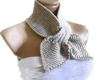 oatmeal  neckwarmer, scarf, Headband, knitting, Holiday , Accessories, valentines day, gift