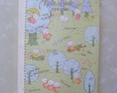 SCARCE 1976 Sanrio Tiny Poem Notebook Journal - 40 Pages - Free Shipping