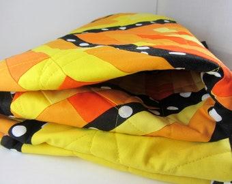 Modern Quilt, quilt for baby, crib quilt