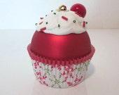 Christmas Ornament, Cupcake Ornament