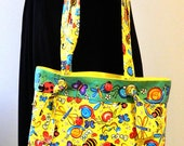 Girls Yellow Dancing Bug Tote