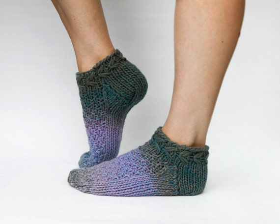 Wool Ankle Socks Womens Knitted Slippers Home Socks Gift