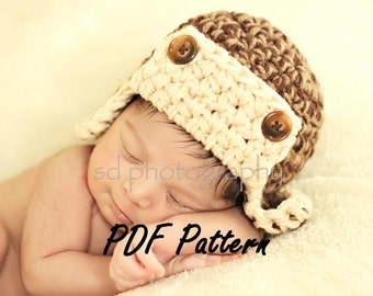 Aviator Hat Pattern PDF