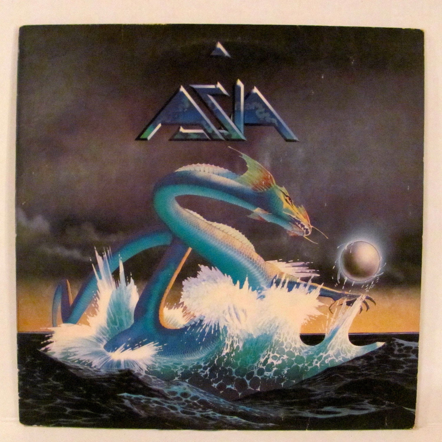 Asia Record Album Cover And Record By RevivedArt On Etsy