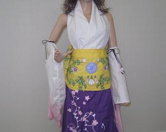 Custom Made Final Fantasy 10 Summoner Yuna Cosplay
