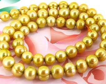 Loose beads gemstones 7mm Baroque Pearl freshwater cultured  Pearl beads full one strand