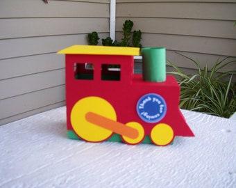 Train Favor Box Set of 10