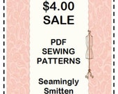 sewing pattern sale - sewing pattern coupon - pdf sewing pattern - children sewing pattern - womens sewing pattern
