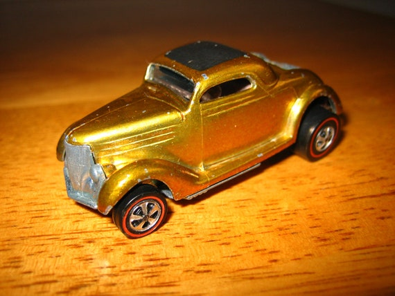 Vintage HOT WHEELS Classic 36 Ford Coupe Toy Car 1960s  Mattel