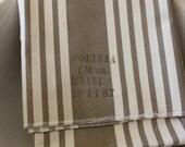 Vintage Ticking Pillow Case - Italian Military