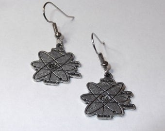Gorgeous Geekery Atomic Earrings - Physics, Chemistry, Science, Laboratory