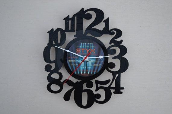 Vinyl Record Album Wall Clock (artist is STYX)