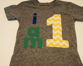 Black and white Chevron turquoise lime Shirt Organic Shirt Blend customize colors boys birthday shirt first birthday and up