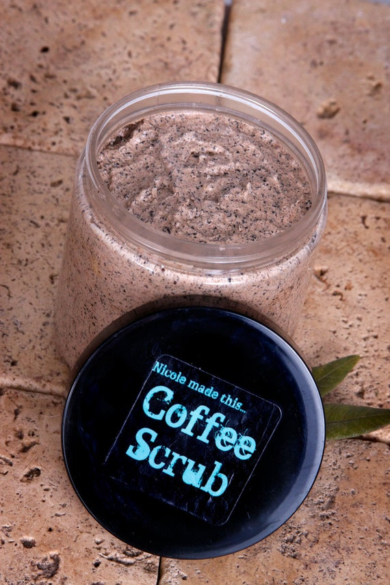 All Natural Creamy Coffee Luxury Exfoliating Scrub for Facials or Body Treatments - Handcrafted Fresh to Order
