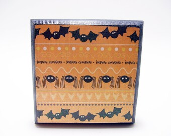 Jeepers Creepers Decoupaged Trinket Box