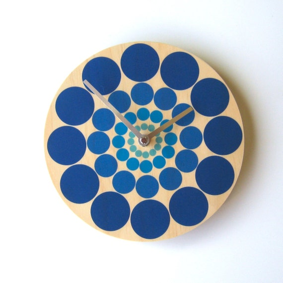 """Objectify """"Spin"""" Wall Clock"""