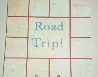 Road Trip Memories Scrapbook Page - Road Trip Premade Scrapbook Page - Road Trip Scrapbook Page - Road Trip