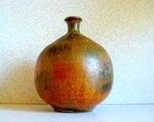 Mid-Century Modern Miniature Rustic Vase Eames Era Decor