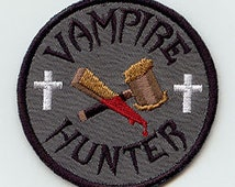 Vampire Hunter Embroidered Patch