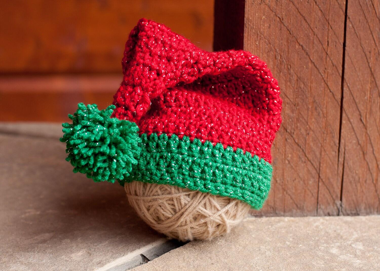 CROCHET PATTERN Santa/Elf Hat by SweetDecemberDesign on Etsy