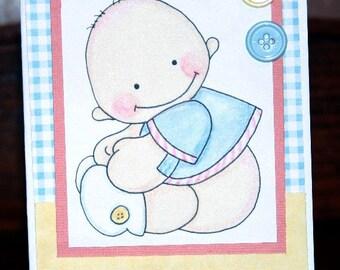 Baby Boy Card  20120438