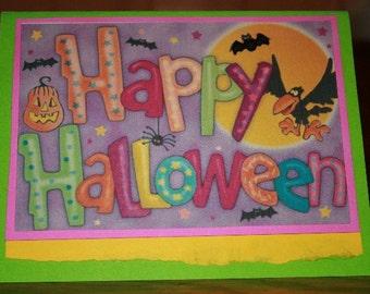 Happy Halloween Card  20120496
