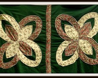 autumn quilt pattern applique PDF pattern quilt as you go pattern