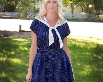 Super Cute Sailor Style Dress