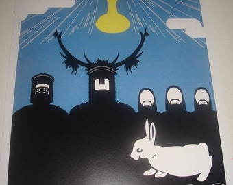Monty Python and the Holy Grail movie poster print