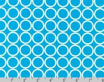 Metro Living - Circles Turquoise from Robert Kaufman