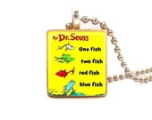 One Fish Two Fish...Scrabble Tile Necklace